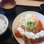 オリンピア食堂 - チキンカツ定食