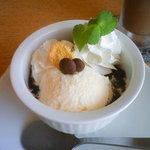 オリンピア食堂 - ランチ デザート