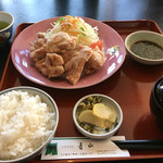 青山レストラン - 青山風唐揚げネギソース ¥910