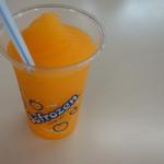 東山動物園 - オレンジ味のフローズン