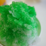 東山動物園 - かき氷メロン味