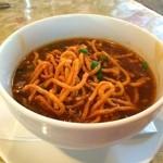 インドヤレストラン - マンチョウスーブ(half)