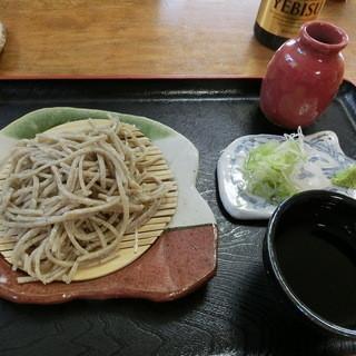 専心庵 - 料理写真:「蕎麦セット」(1,295円)の「十割限定」そば
