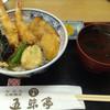 五味亭 - 料理写真:天丼定食680円(税別)