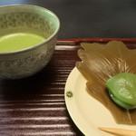 柳生の庄 - 料理写真:ウェルカムティー