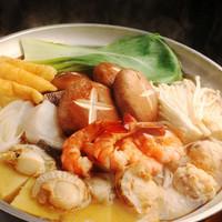 ちゃんこ鍋(醤油味 ・味噌味 ・塩味 ・キムチ味)