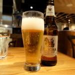 サイアムセラドン - タイのシンハービール(650円)