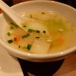 サイアムセラドン - ちょっとピリッとしたスープ
