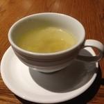 ブッチャー - 料理写真:最初のスープ^^