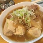 しげきん - 料理写真:160502東京 しげきん 肉豆腐