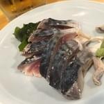 しげきん - 料理写真:160502東京 しげきん しめ鯖