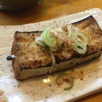 はむら - 料理写真:160502東京 はむら 厚揚げ100円?