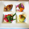 清澄の里 粟 - 料理写真:前菜4種