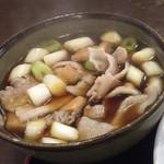 50555106 - 肉汁うどん(自慢の肉汁)