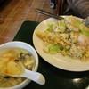 百香亭 - 料理写真:海鮮炒飯セット ¥980