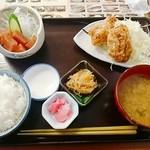 野方食堂 - B定食   (ご飯→半ライスに変更 -¥20引き)   ¥880