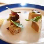 トゥールダルジャン - フォアグラのショーフロア ブランケットソース 仔牛のヴィネグレット風味
