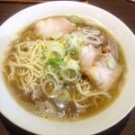 麺処 遊 - 料理写真:煮干しそば 肉増し(肉煮干しと同じ)