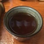 きり - 料理写真:蕎麦湯割り