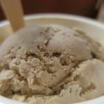Hilo Homemade Ice Cream - シングルカップ(コナコーヒー)アップ