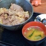 信楽陶舗 大小屋 - 料理写真:近江牛肉丼