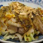 炒め処 寅蔵 - 鶏の山椒ピリ辛ボイル