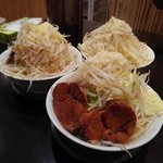 G麺屋 - マッチョ麺3杯