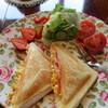 ルドゥーテ - 料理写真:ホットサンドセット