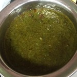 タージマハール - 豆ベースのサグパニール