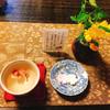 吉野葛 佐久良 - 料理写真:桜湯とお干菓子