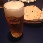 エベレスト - 生ビール パパド