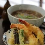 蕎麦・酒 青海波 - 天ぷらそば 1700