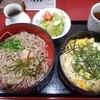 萬寿庵 - 料理写真:たぬき丼(蕎麦2段)2016.4