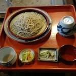 蕎麦古家 - もりそば(中盛)