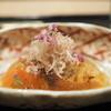 虎白 - 料理写真:お造り 桜マスの炙り
