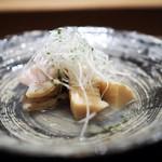 虎白 - 冷し物 筍 蛤