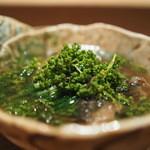 虎白 - 煮物 すっぽん 花山椒