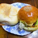 加藤仁と阿部守正の店 - バーガー