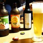 ネイバーフッドアンドコーヒー - ドリンク写真:ビール三種類です ( ^o^)ノ