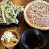 そば陣 - 料理写真:【H28.5.5】山菜天ぷら付きそば1250円。