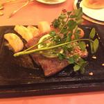 ベルマリン - メインのステーキ