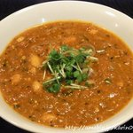 たんどーる - 大豆とコンニャクの和ッサムカレー