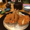 不二かつ - 料理写真:ペアーセット ¥2300 (2016.5.4)