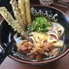 元祖肉肉うどん - 料理写真:肉ごぼう天うどん=750円