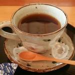 あさむらいちご園 - ホットコーヒー[\350]