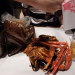 CRACKIN' KITCHEN - タラバ蟹コンボ