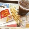 マクドナルド - 料理写真:アイスコーヒーS、ポテトS