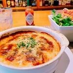 マーマレードカフェ - あつあつドリアランチ スープ/サラダ/セットドリンク付きです。