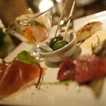 ウィズバー - 料理写真:前菜盛り