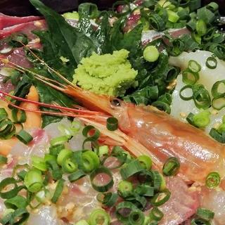 長浜市場から直送の海鮮